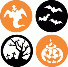 236x232 Halloween clipart circle