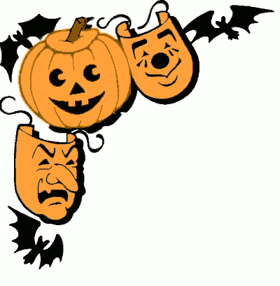 400x409 Happy Halloween Clipart