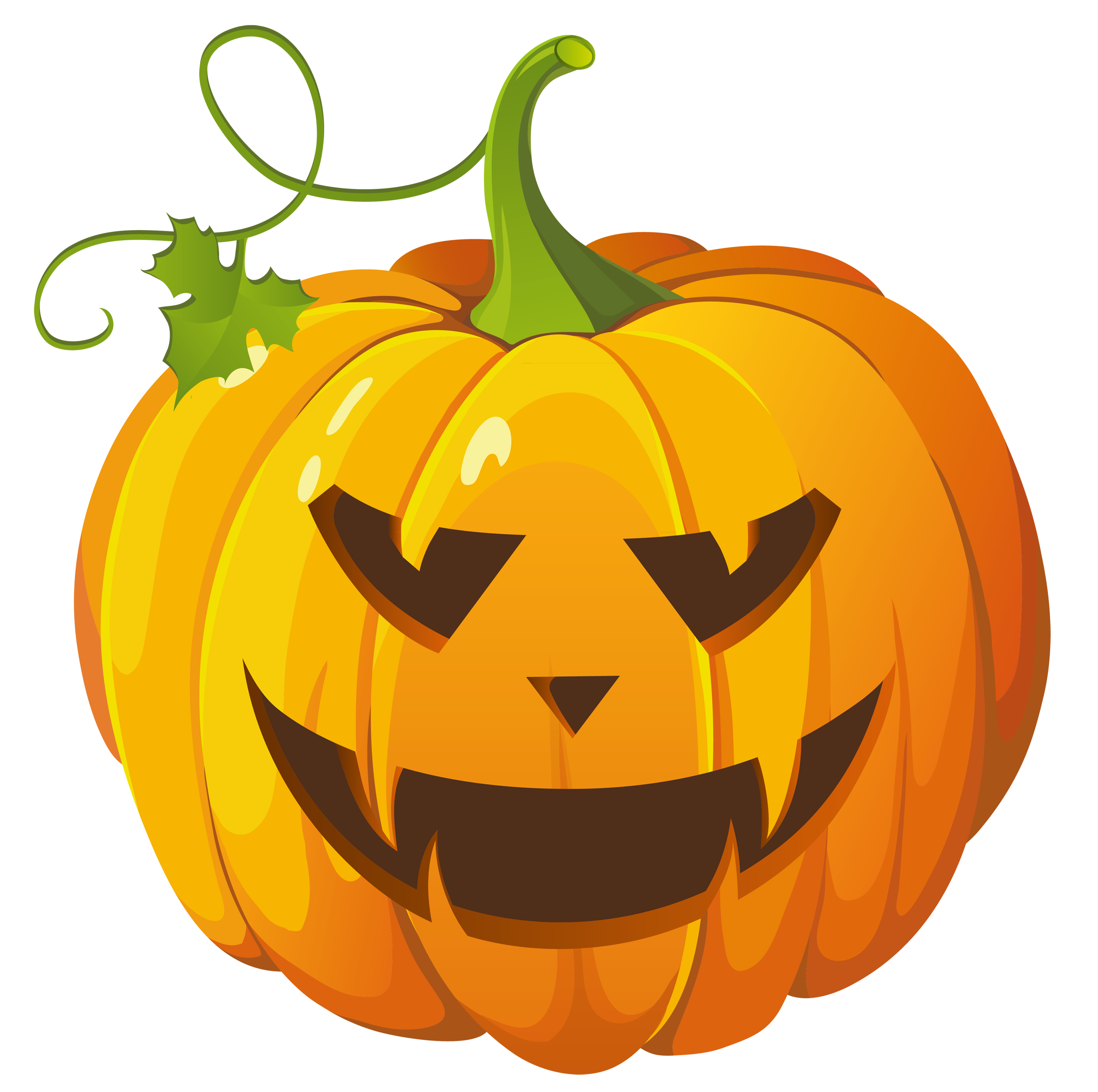 2500x2486 Transparent Background Halloween Clipart