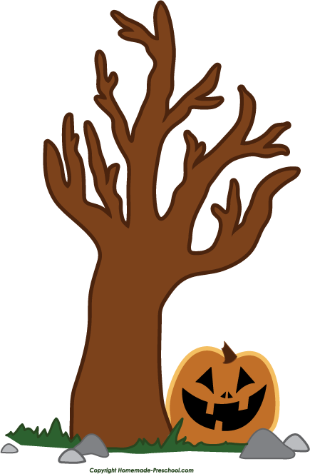 435x664 Branch clipart halloween
