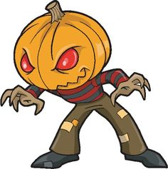 236x237 Monster Halloween Clipart