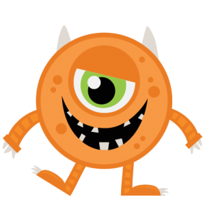 300x300 Orange Halloween Monster Svg My Miss Kate Cuttables