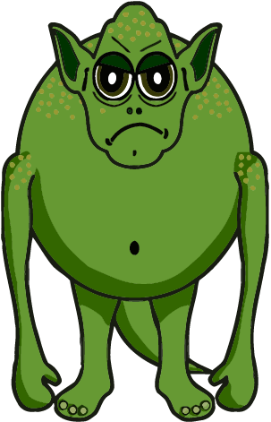 303x471 Best Monster Clipart