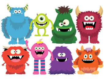 340x270 Top 72 Monsters Clip Art