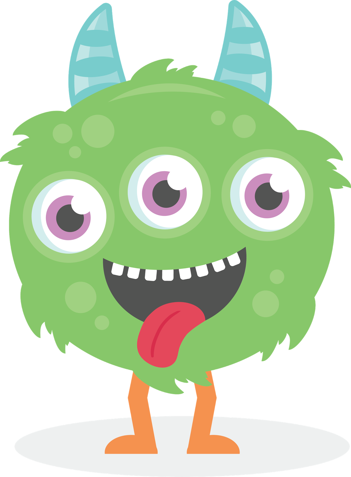 1177x1600 Fluffy Clipart Halloween Monster