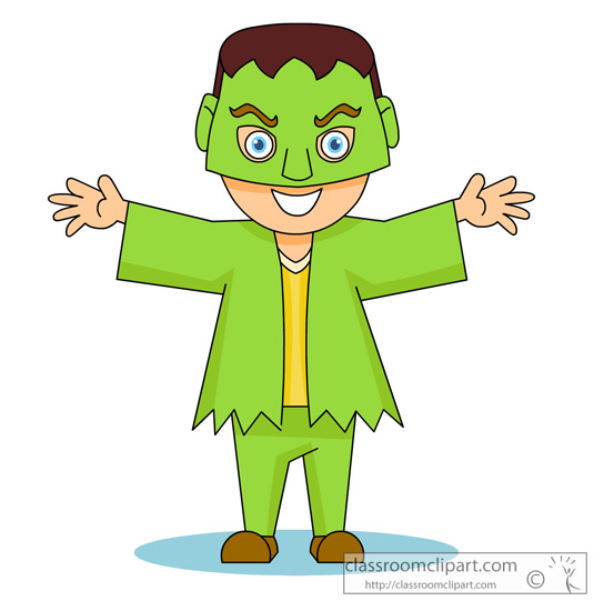 544x550 Halloween Costume Clipart