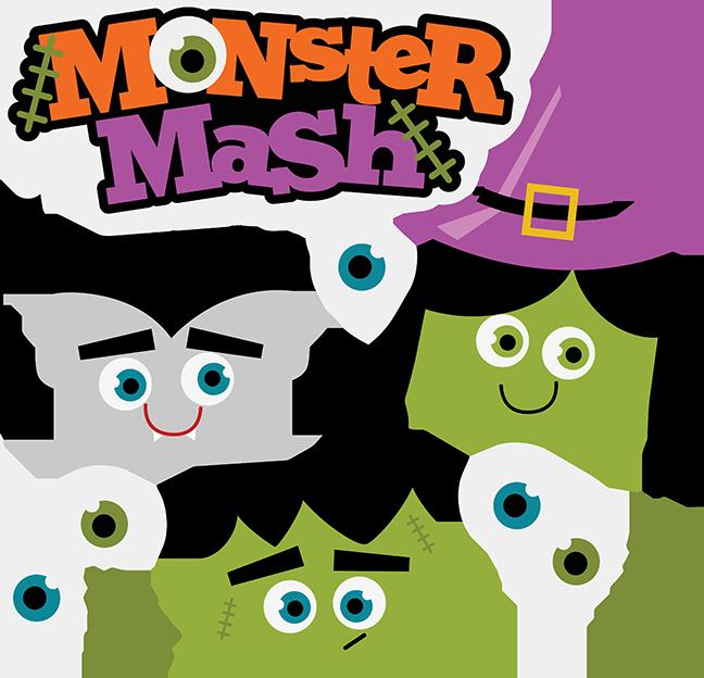 648x624 Halloween Clipart Monster Mash