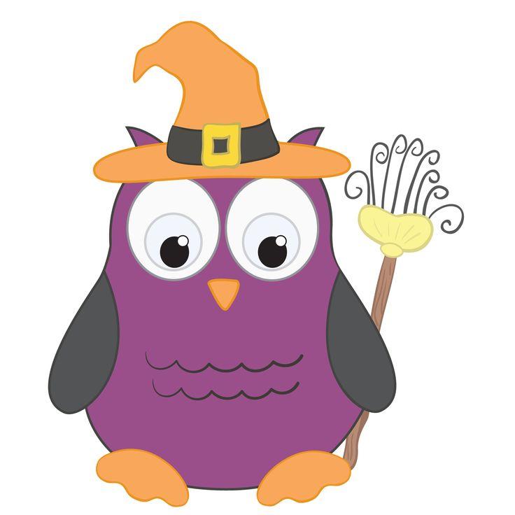 Halloween Owl Clipart