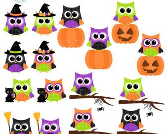 340x270 Cute Owls Clipart Set Clip Art Set Of Owls Pastel Owls