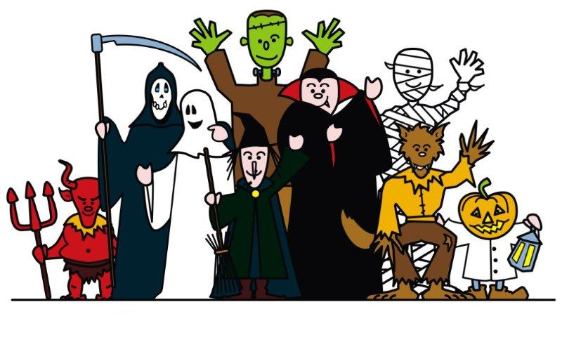 800x514 Costume Clipart Fall Party
