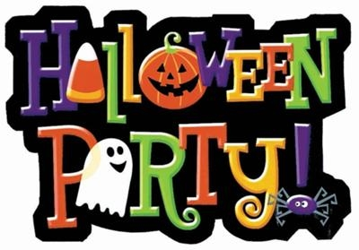 400x279 Halloween Costume Party Clipart
