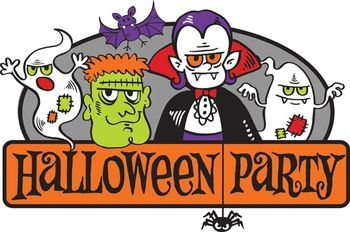 350x232 Halloween Party Clipart For Kids