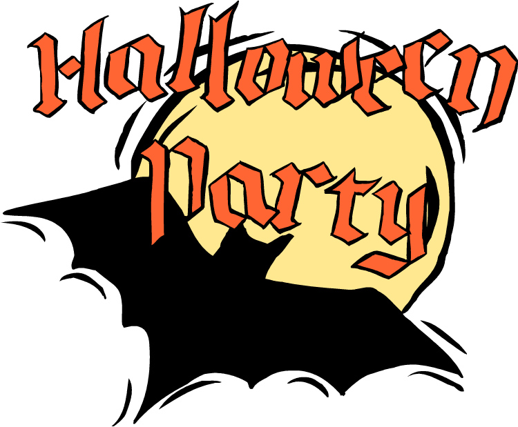 750x619 Kids Halloween Party Clipart