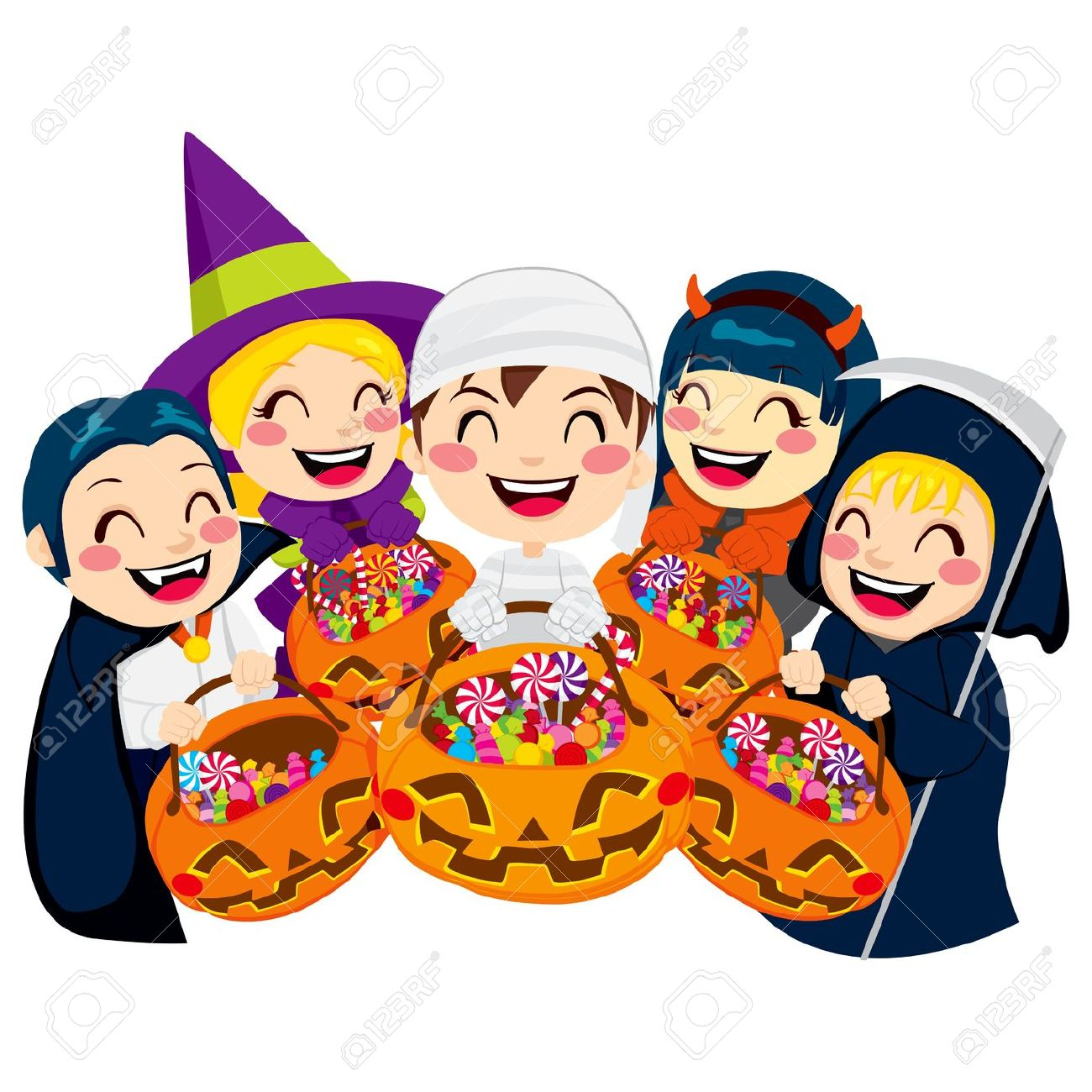 1300x1300 Collection Kids Halloween Party Clipart Pictures