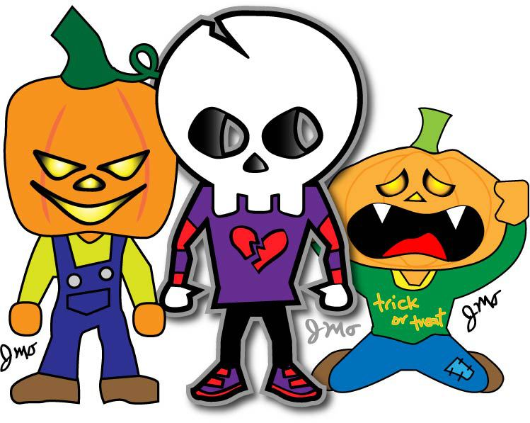 749x597 Halloween Cartoons Skybacher's Locker