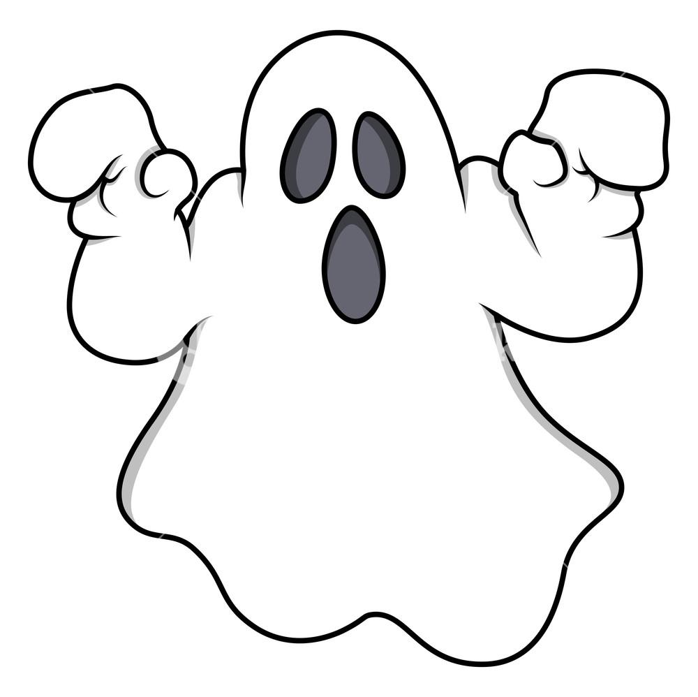 1000x998 Cartoon Ghost