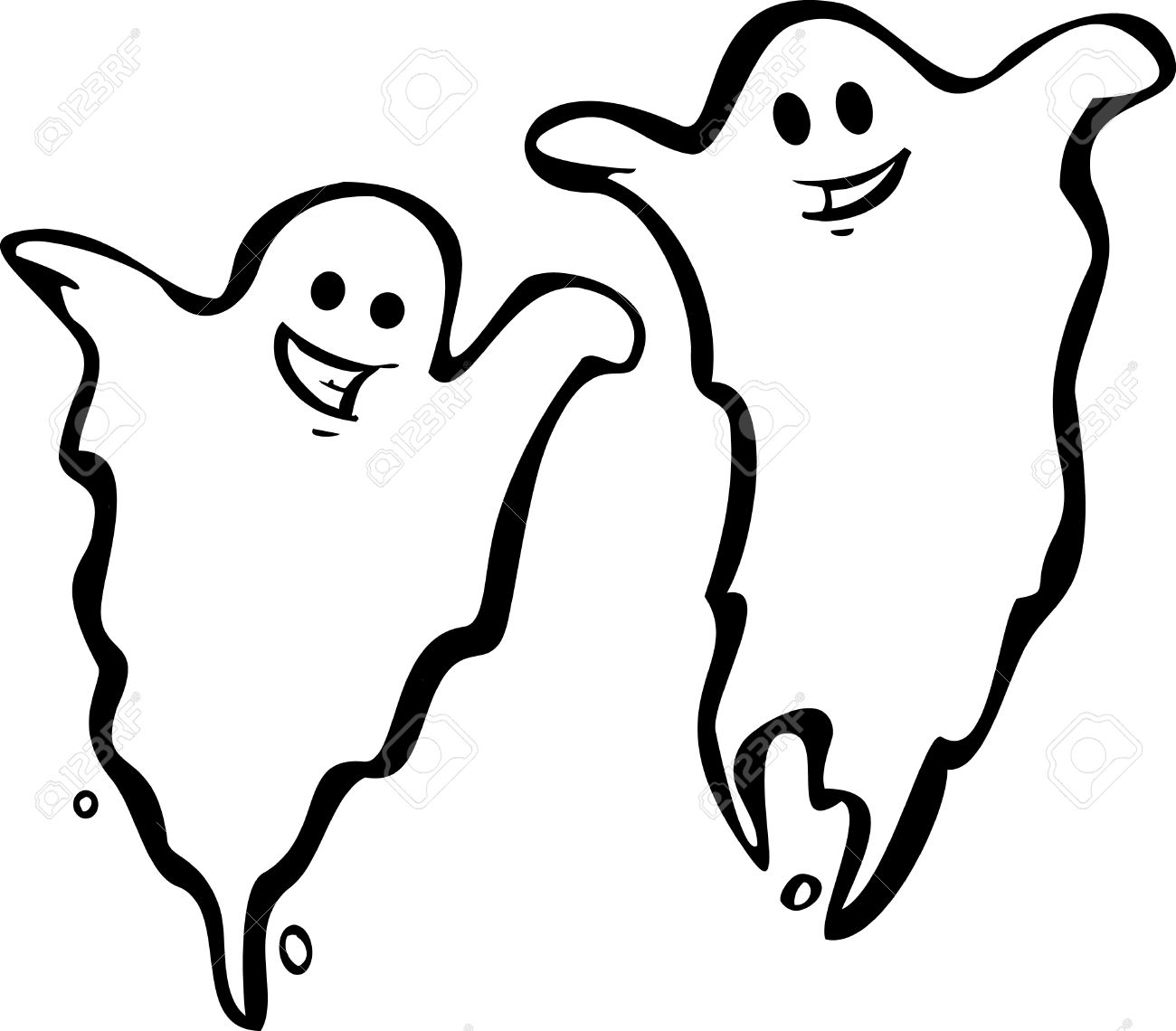 1300x1140 Cool Halloween Ghosts With Halloween Ghost On Uncategorized Design