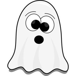 300x300 Cute Halloween Ghost Clipart
