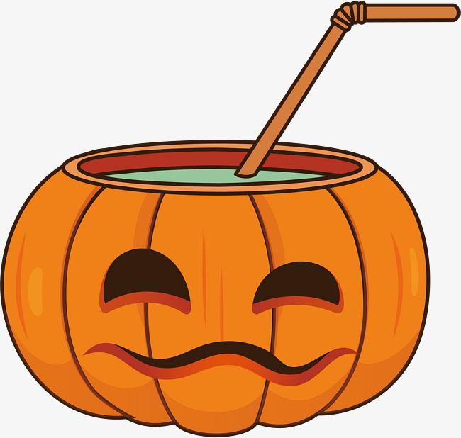 650x618 Halloween Pumpkin Drink, Vector Png, Halloween, Halloween Drinks