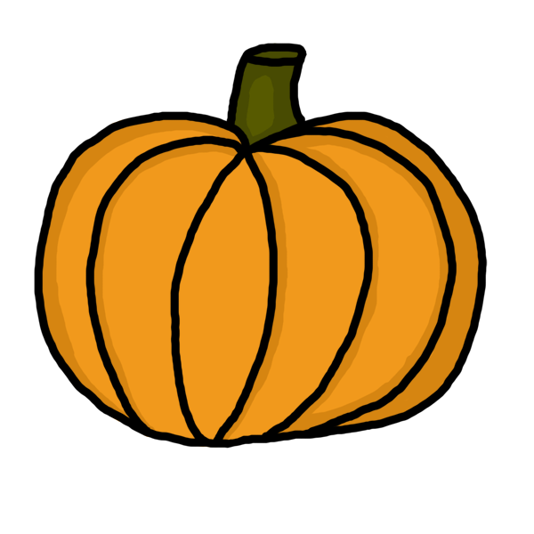600x600 Halloween Pumpkin Clipart