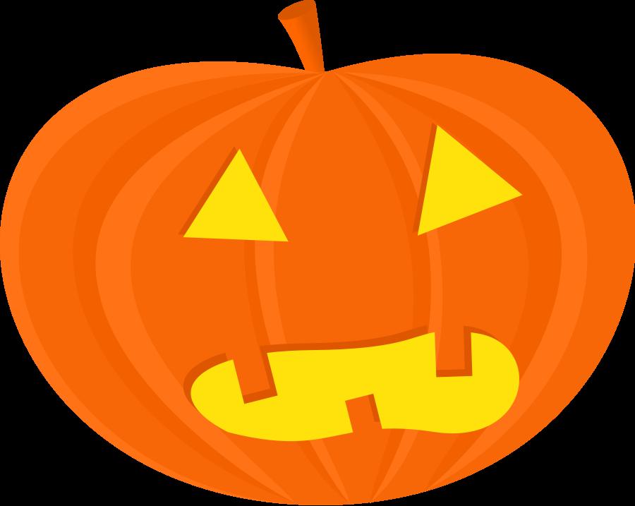 900x717 Halloween pumpkins clipart clip art