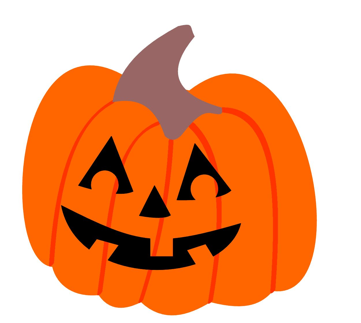 1251x1120 Nice Halloween Pumpkin Clip Art