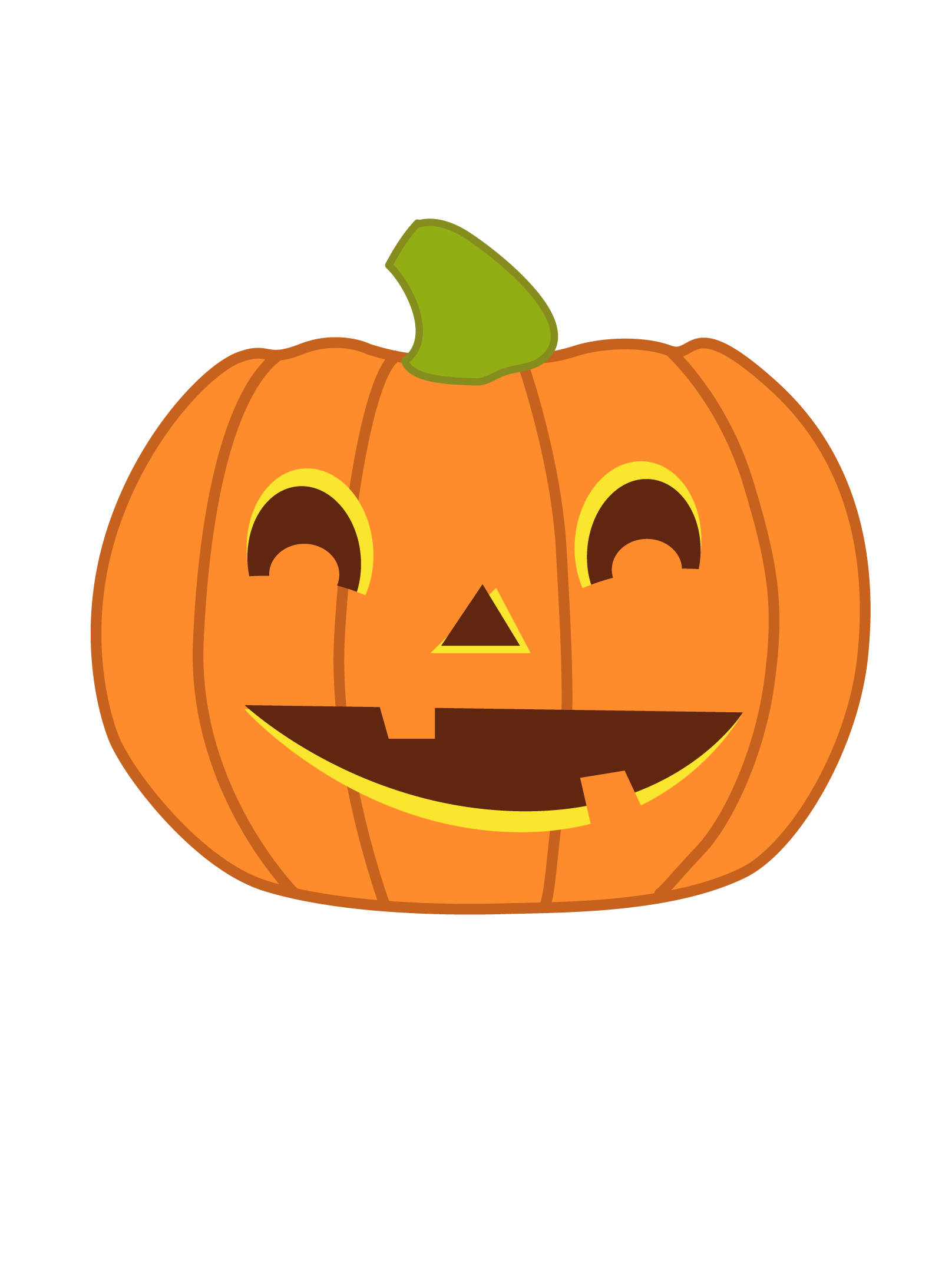 1616x2144 Squash Clipart Cute Halloween Pumpkin