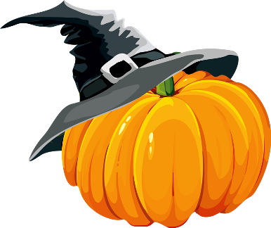 386x324 Halloween Pumpkin Clip Art