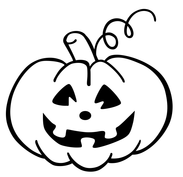 Halloween Pumpkin Clipart Black And White Free Download