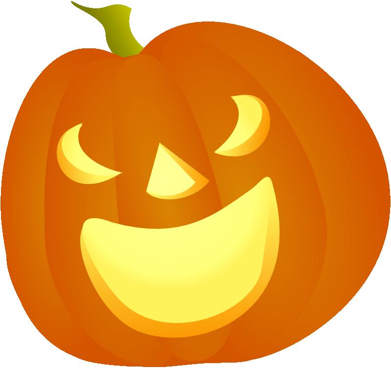 800x754 Halloween Pumpkin 2d Png Simple