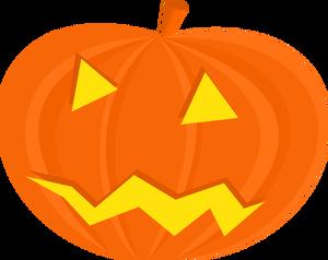 300x238 673 Halloween Pumpkin Clipart Free Public Domain Vectors