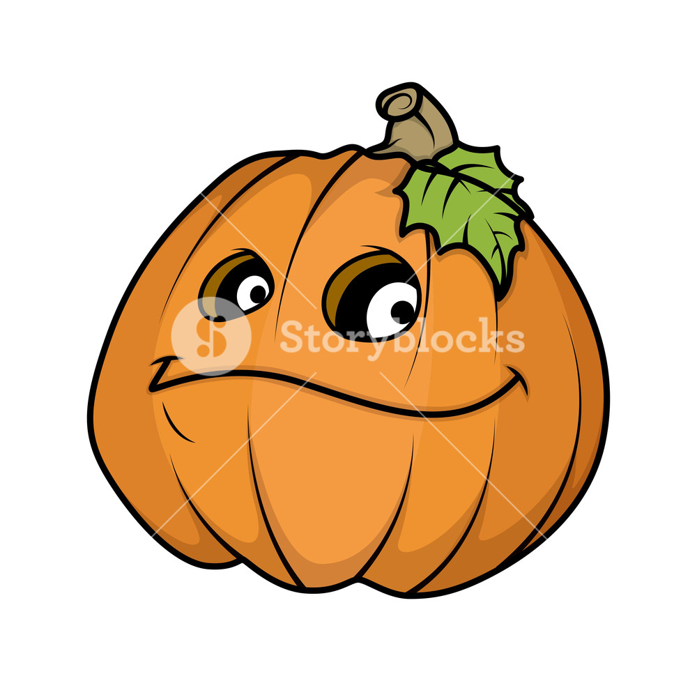 1000x977 Halloween Pumpkin Emotions. Vector. Royalty Free Stock Image