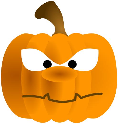 495x519 Pumpkin Cartoon Mean