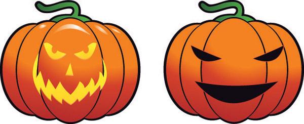 600x245 Free Halloween Pumpkin Vectors Graphics Free Vector Download
