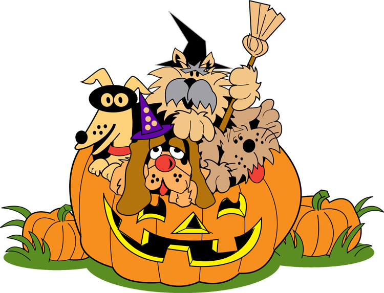 750x573 Free Cute Halloween Clipart