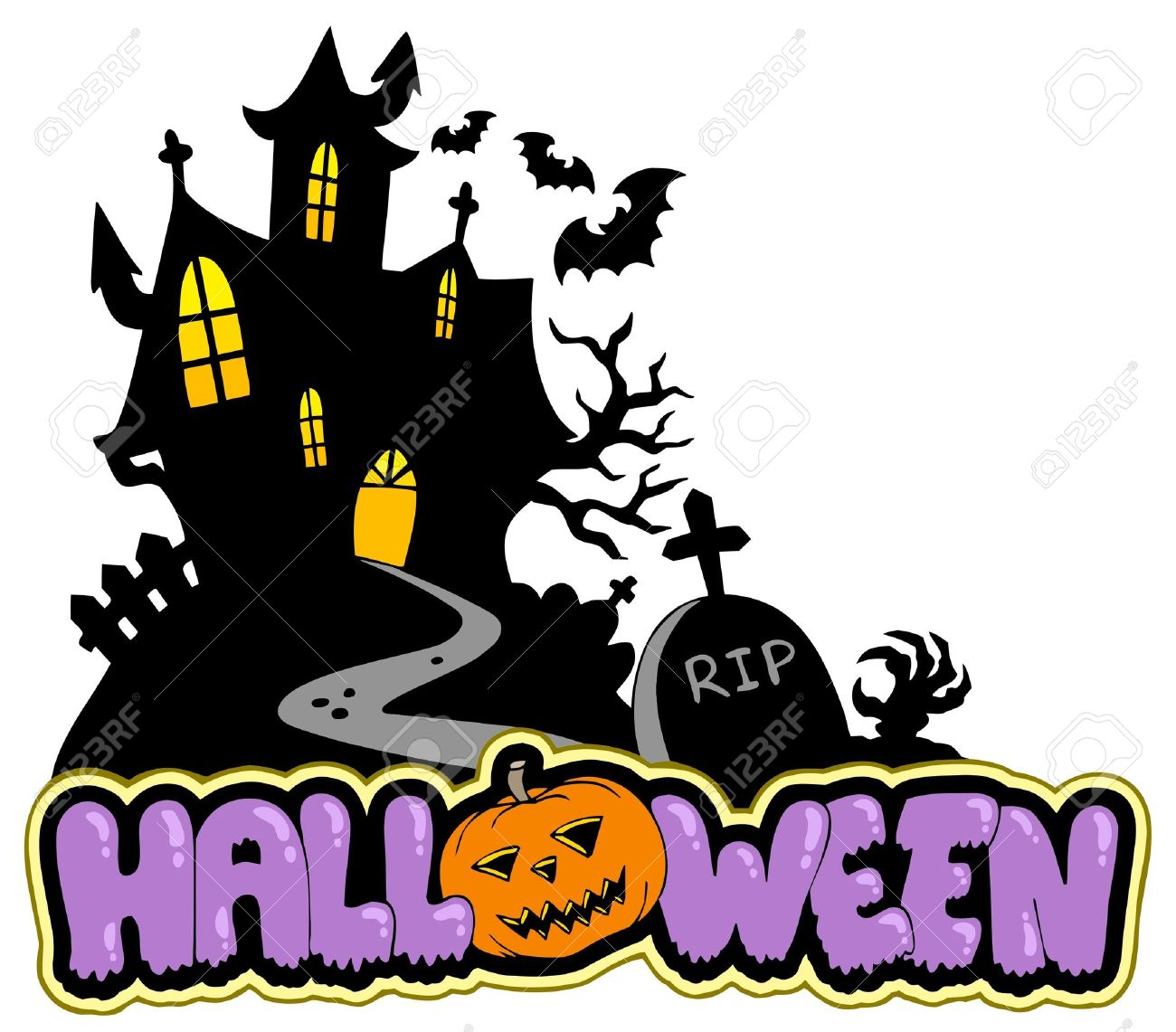 1300x1141 Halloween Sign Clipart