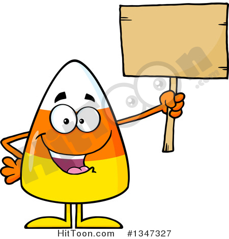 450x470 Candy Corn Clipart