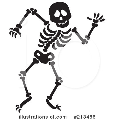 400x420 Skeleton On Motorcycle Clipart