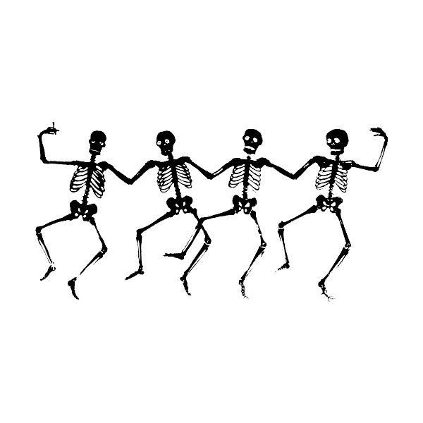 600x600 Skeleton Clipart Dancing
