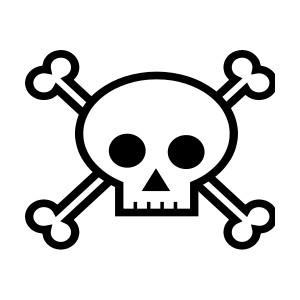 300x300 Skull Clipart Clipartix