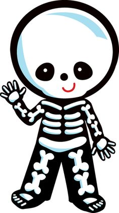 236x420 Animated Dancing Skeleton Clip Art Clipartcow