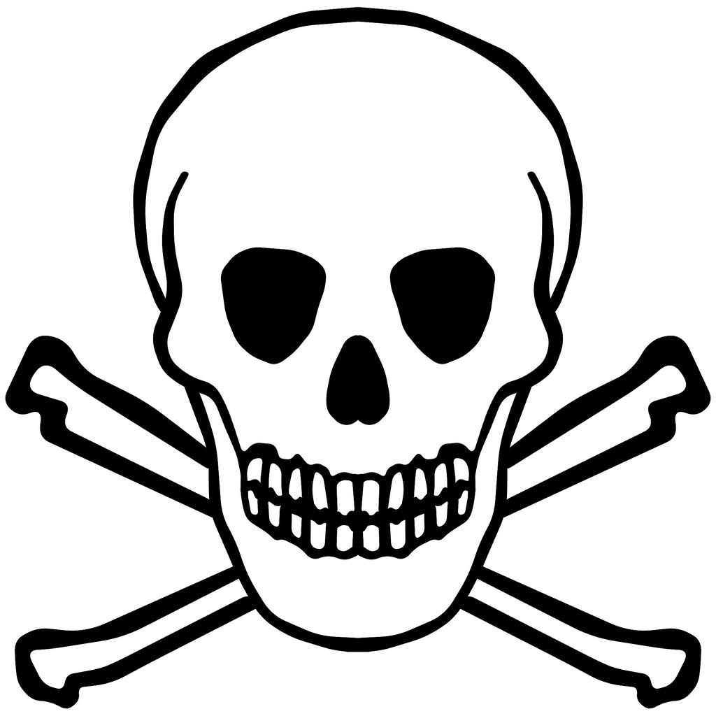 1024x1024 Simple Skeleton Clipart