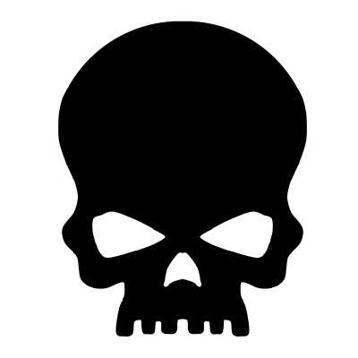 400x400 Skull Clip Art Vector Clip Art Free Image 1 2 Clipartcow Clipartix