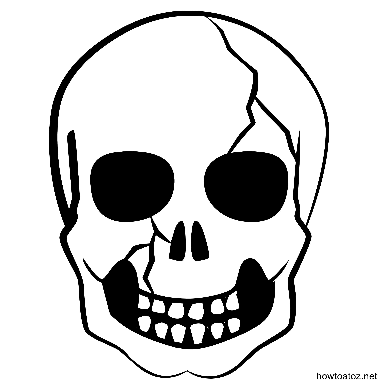 3000x3000 Skull Clipart Printable