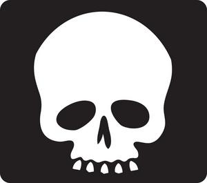 300x265 Skull Clipart Simple