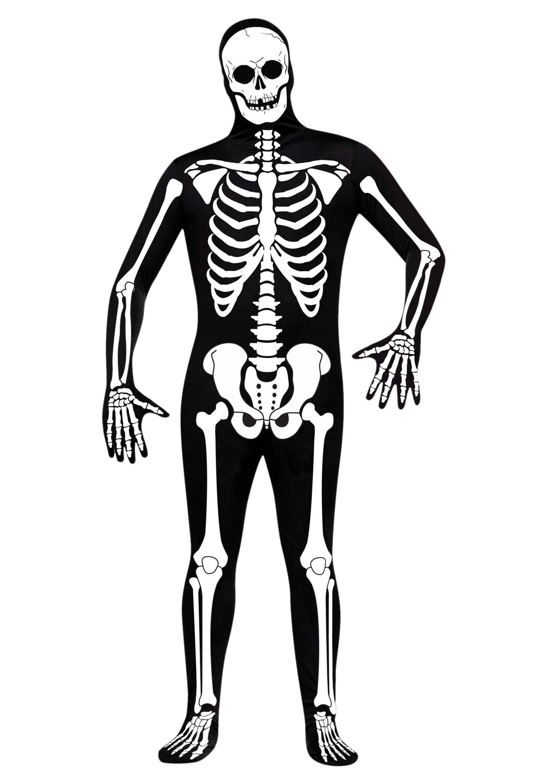 1750x2500 Skeleton Zentai Suit