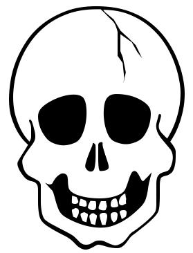 279x366 Halloween Skull Clip Art Cliparts
