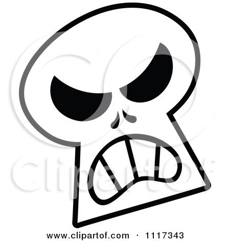 450x470 Halloween Skull Clipart