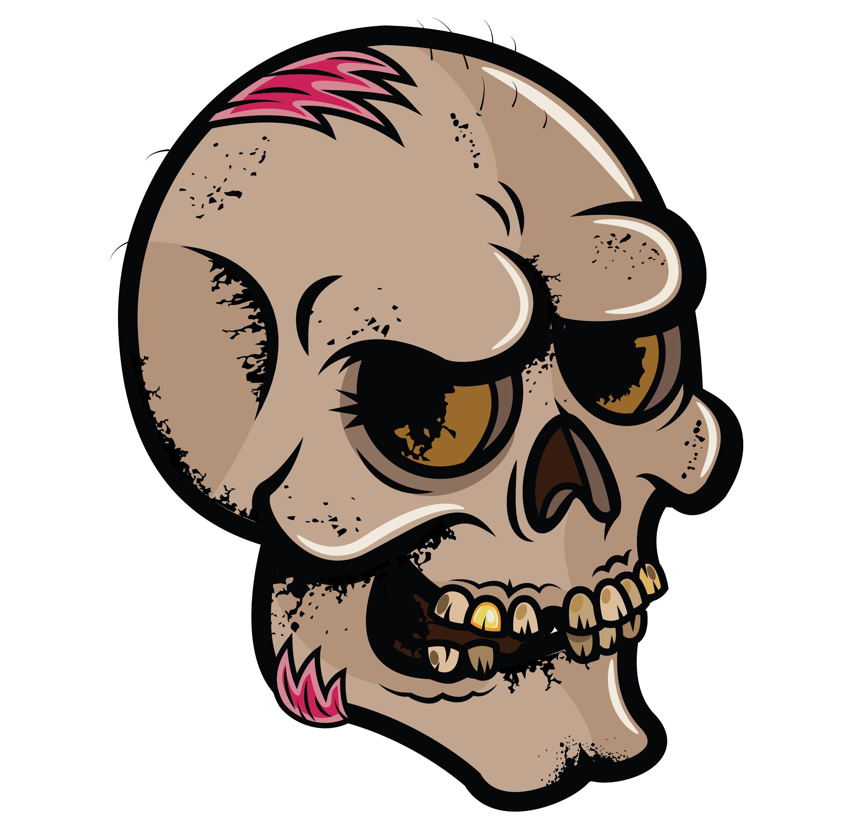 2719x2642 Halloween ~ Scary Font Halloween Mask Skull Sugar Painting Skulls