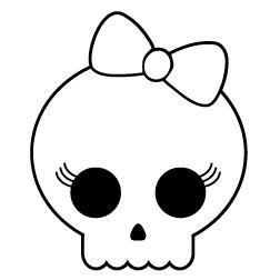 252x252 Skull Tattoo Tattoos Tattoo Skull Coloring Page Halloween